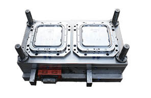 2-cavity Thin Wall Container Lid Mould - Core