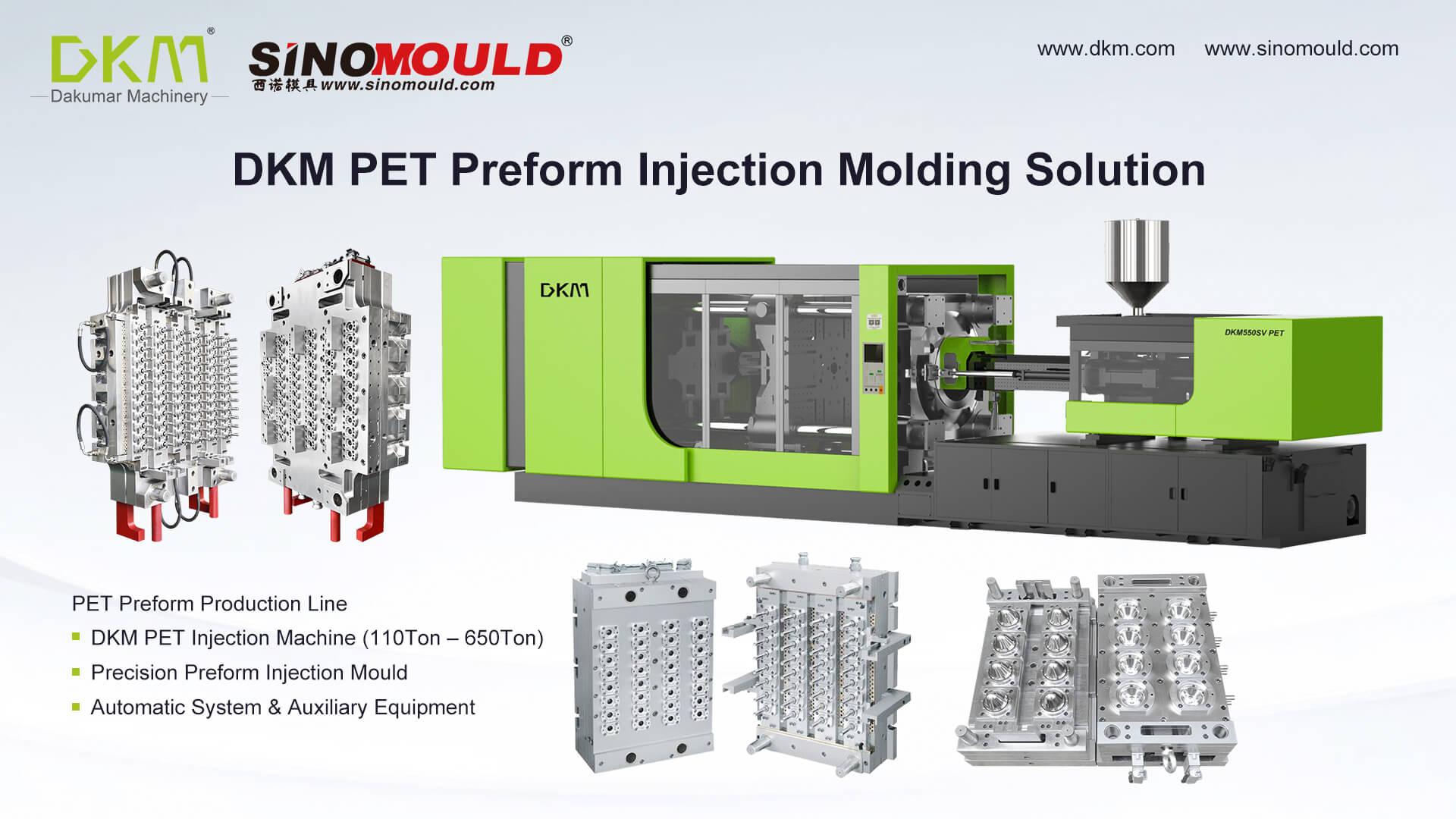 Bottle Preform Injection Molding System
